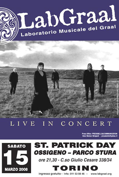 LabGraal live for St.Partick Day