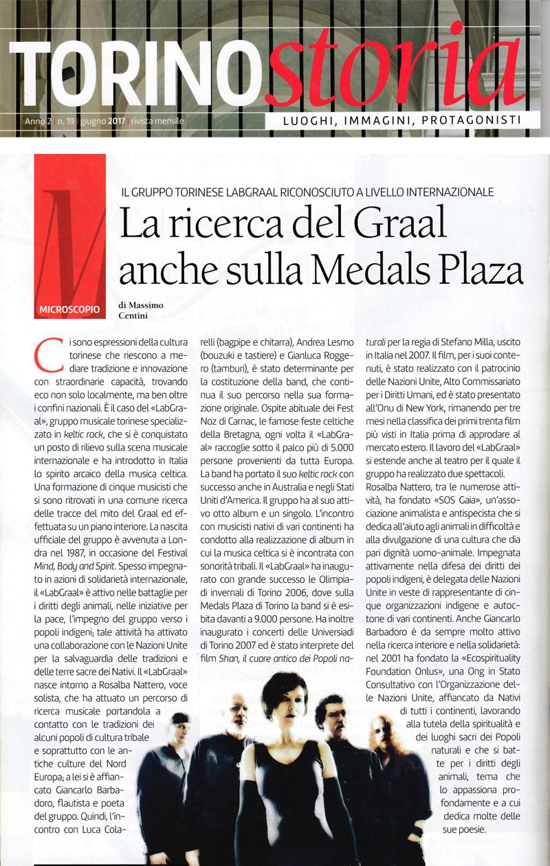 LabGraal Torino Storia Giugno 2017